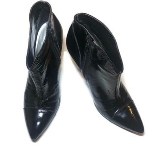 BCB GIRLS Patent leather pointed ankle boots